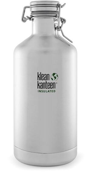Klean Kanteen Growler Vacuum Insulated 64oz (1892 ml) Brushed Stainless